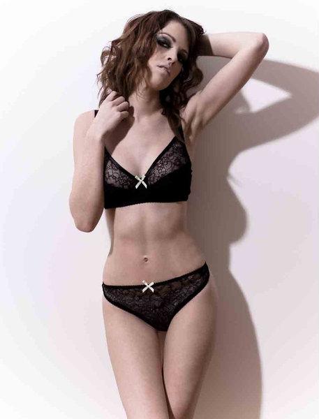 b05318bd8 The beautifully intricate  Marlene  bra by Louise Ferdinand Lingerie