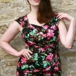 Pin Up Pretty | Dovima Thorny Rose Dress
