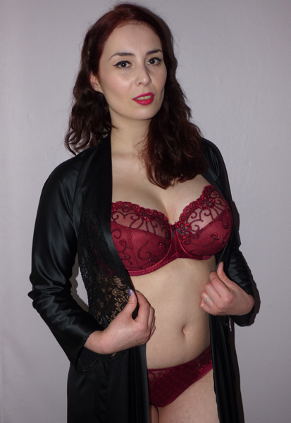 red hot lingerie part 1: kris line eva – becky's boudoir