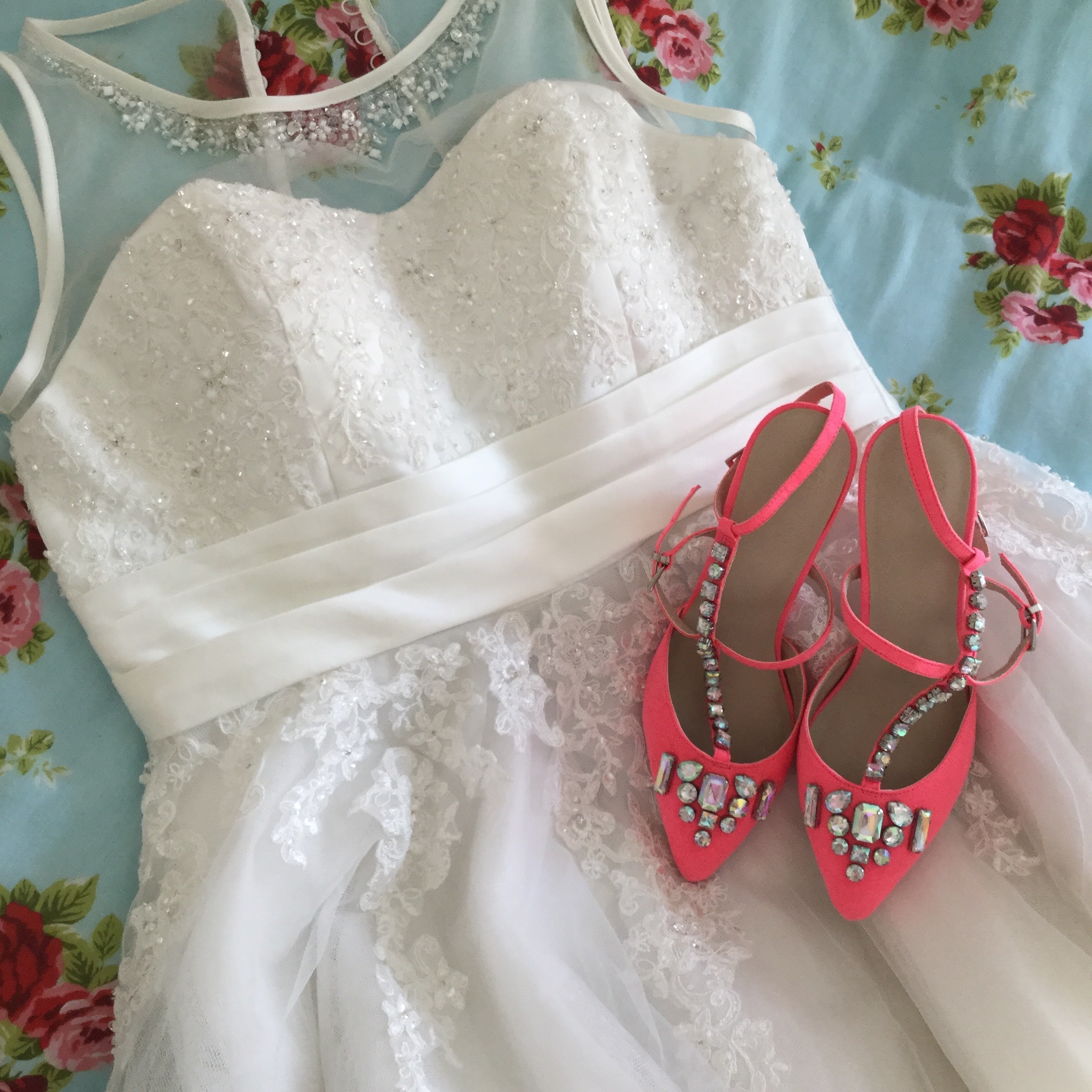 wedding day shoes ultimate ootd my wedding day becky s boudoir 8973