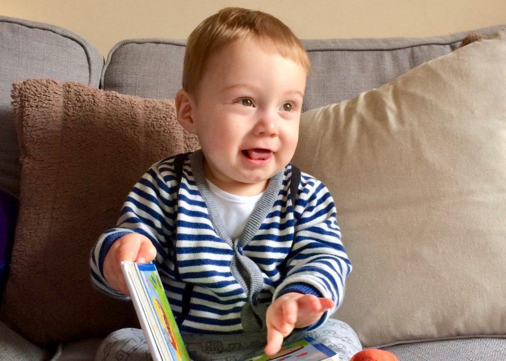 Reubens First Hair Cut Tips For Toddler Salon Success Beckys